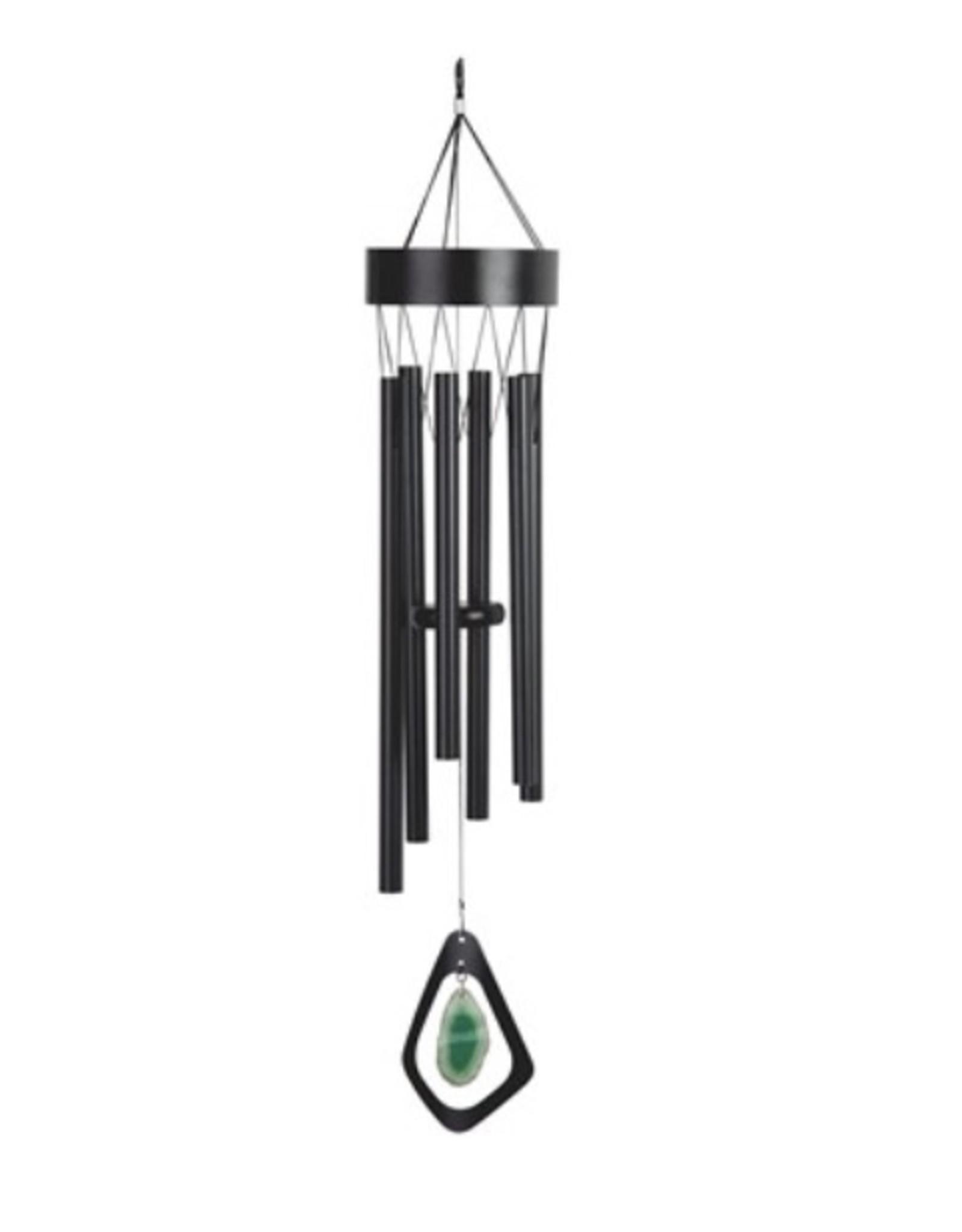Black Metal Wind Chime Windchime Mobile 33 inch