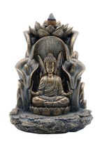 Buddha in Bronze Backflow Burner