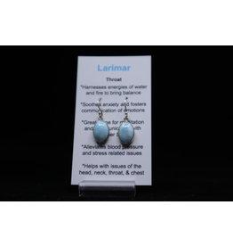 Larimar Earrings #5