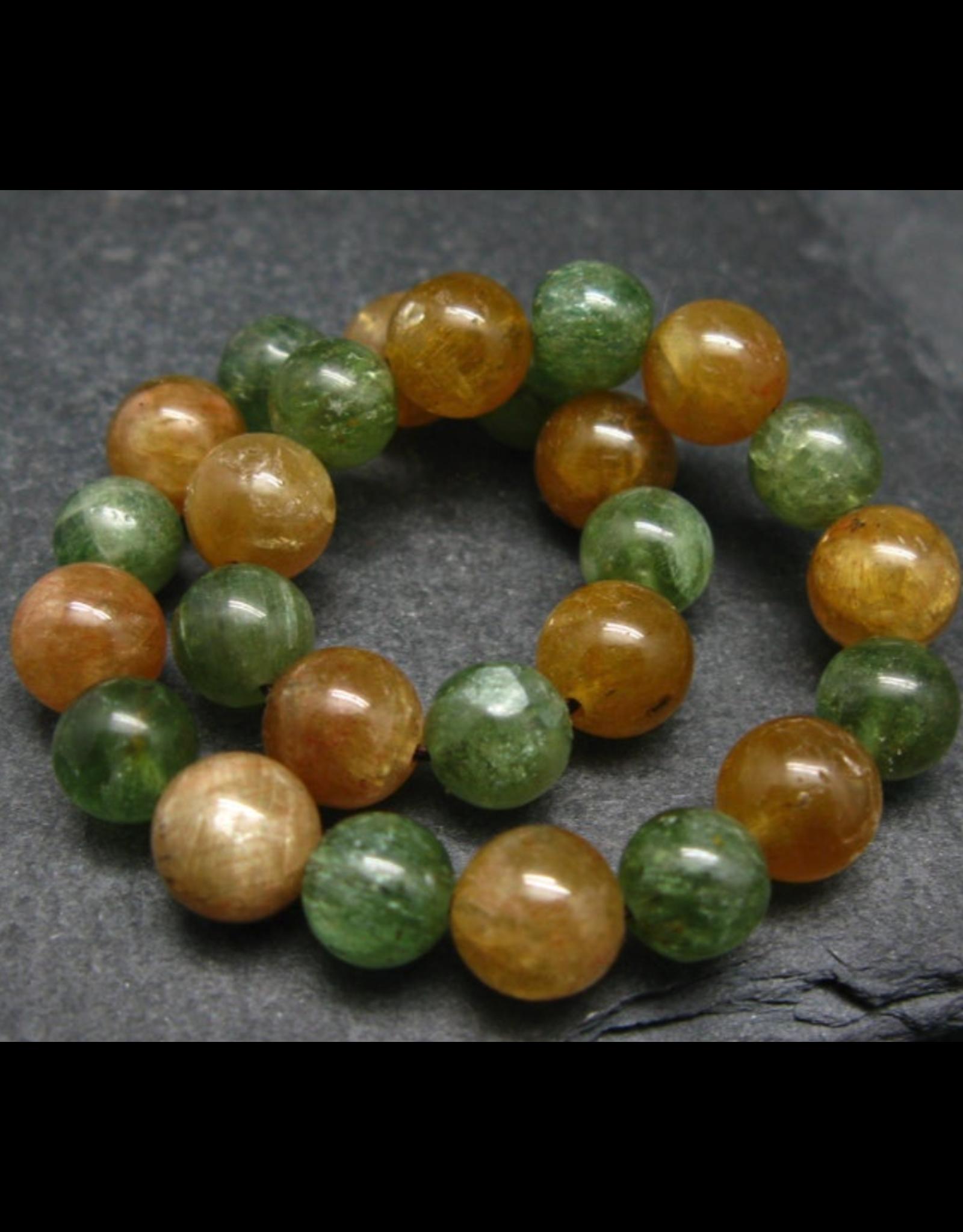 Green & Golden Apatite Bracelet - 8mm
