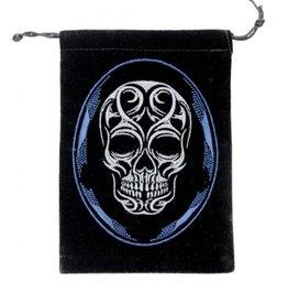 Velvet Bag - Skull
