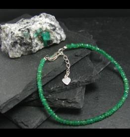 Emerald Bracelet - 4mm