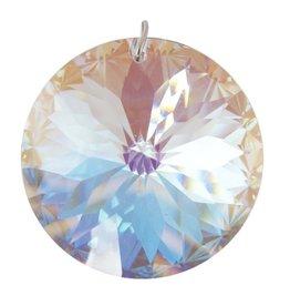 Prism Crystal 40mm Faceted Disc