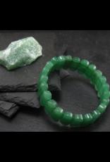 Green Aventurine Bracelet - Oval Beads