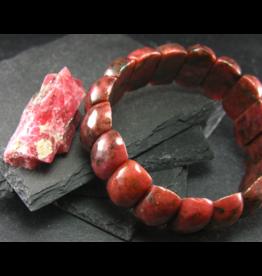 Rhodonite Bracelet - 25mm