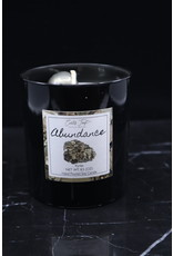 Abundance Candle - Pyrite