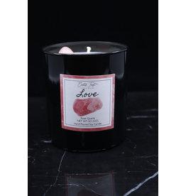 Love Candle - Rose Quartz