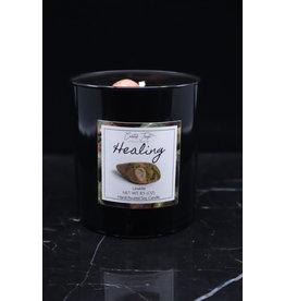 Healing Candle - Unakite