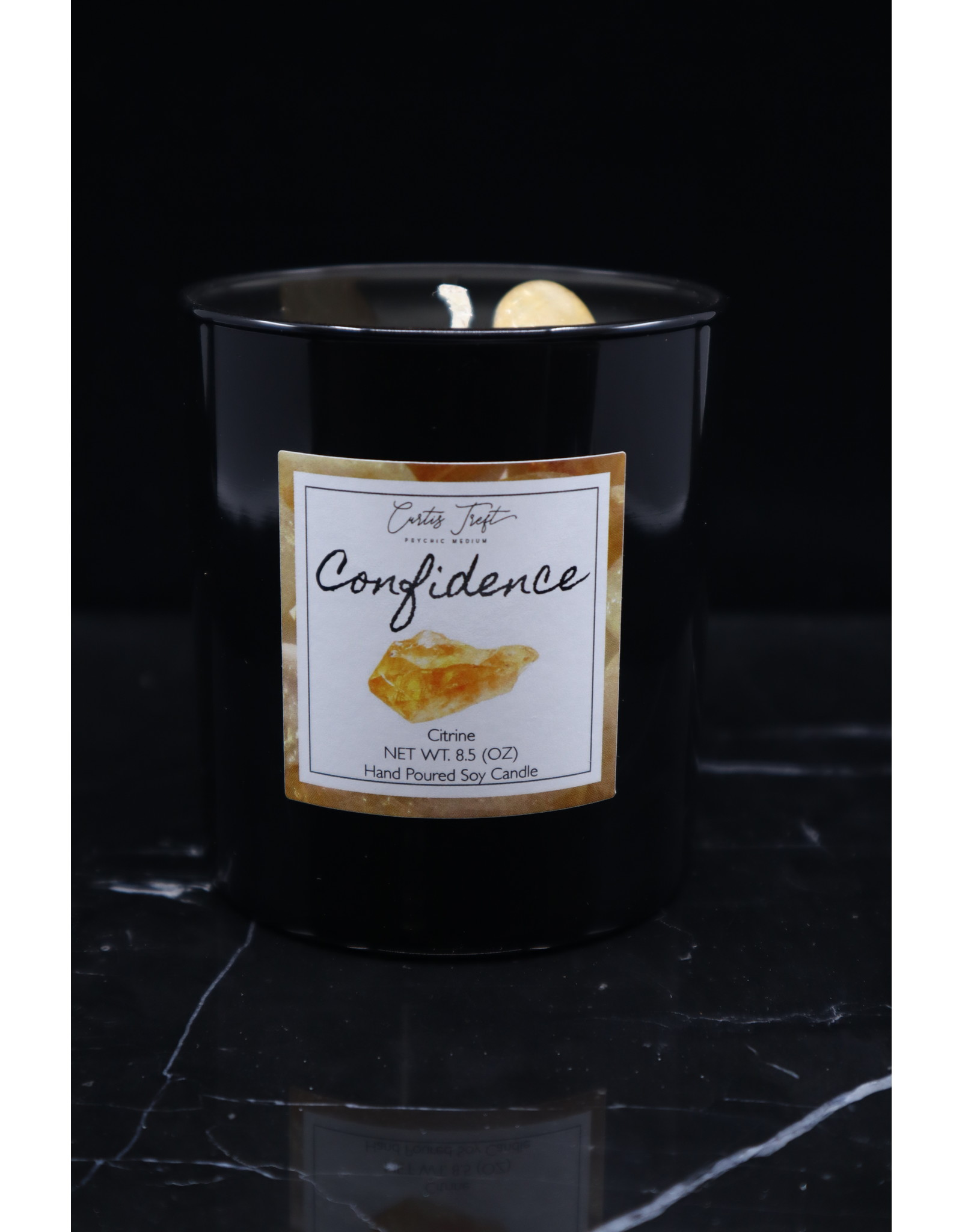 Confidence Candle - Citrine