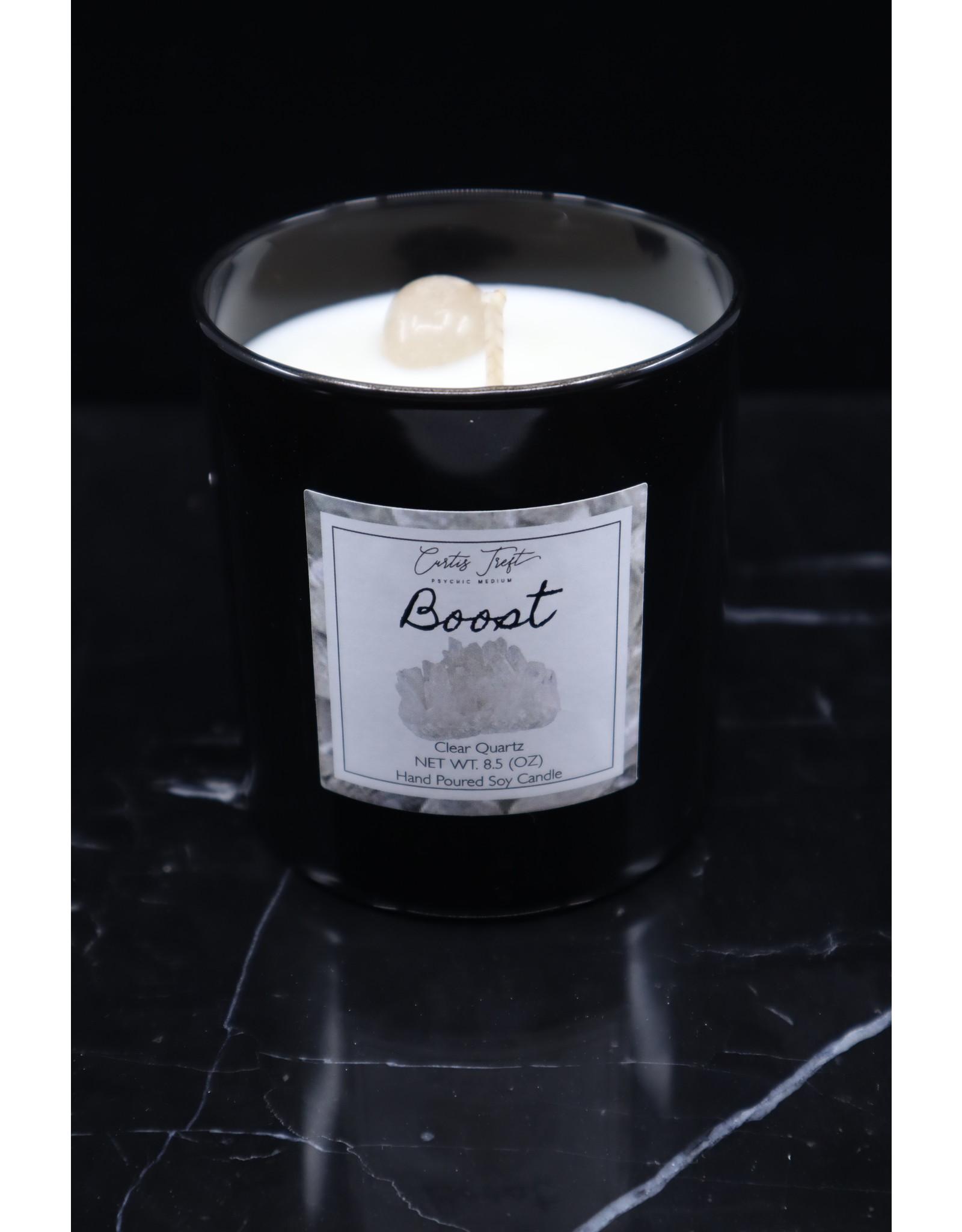 Boost Candle - Clear Quartz