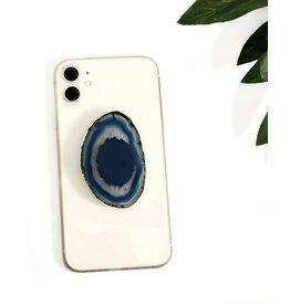 Blue Agate Phone Grip