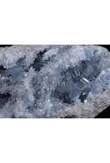 Blue Celestite Geode Specimen