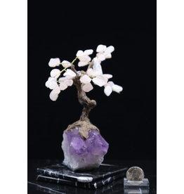 Large Rose Quartz Tree