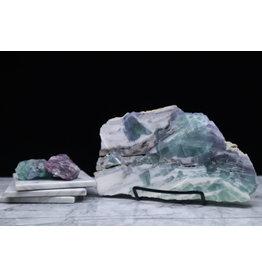 Rainbow Fluorite Slab - Large #6