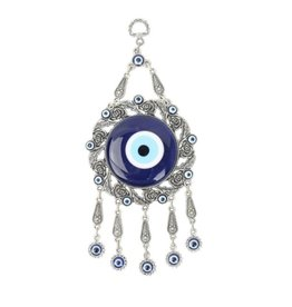 Evil Eye w/Roses Wall Hanging
