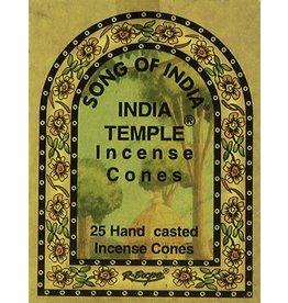 India Temple Incense Cones