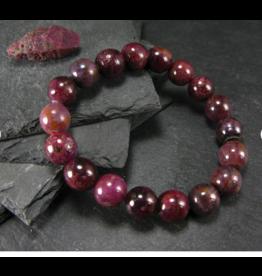 AAA Grade Ruby Bracelet - 11mm