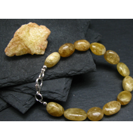 Agni Gold Danburite Bracelet - 13mm