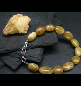 Bracelet -Agni Gold Danburite  - 13mm