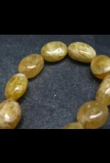 Agni Gold Danburite Bracelet - 13mm