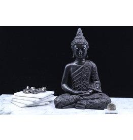 Shungite Sitting Buddha Large