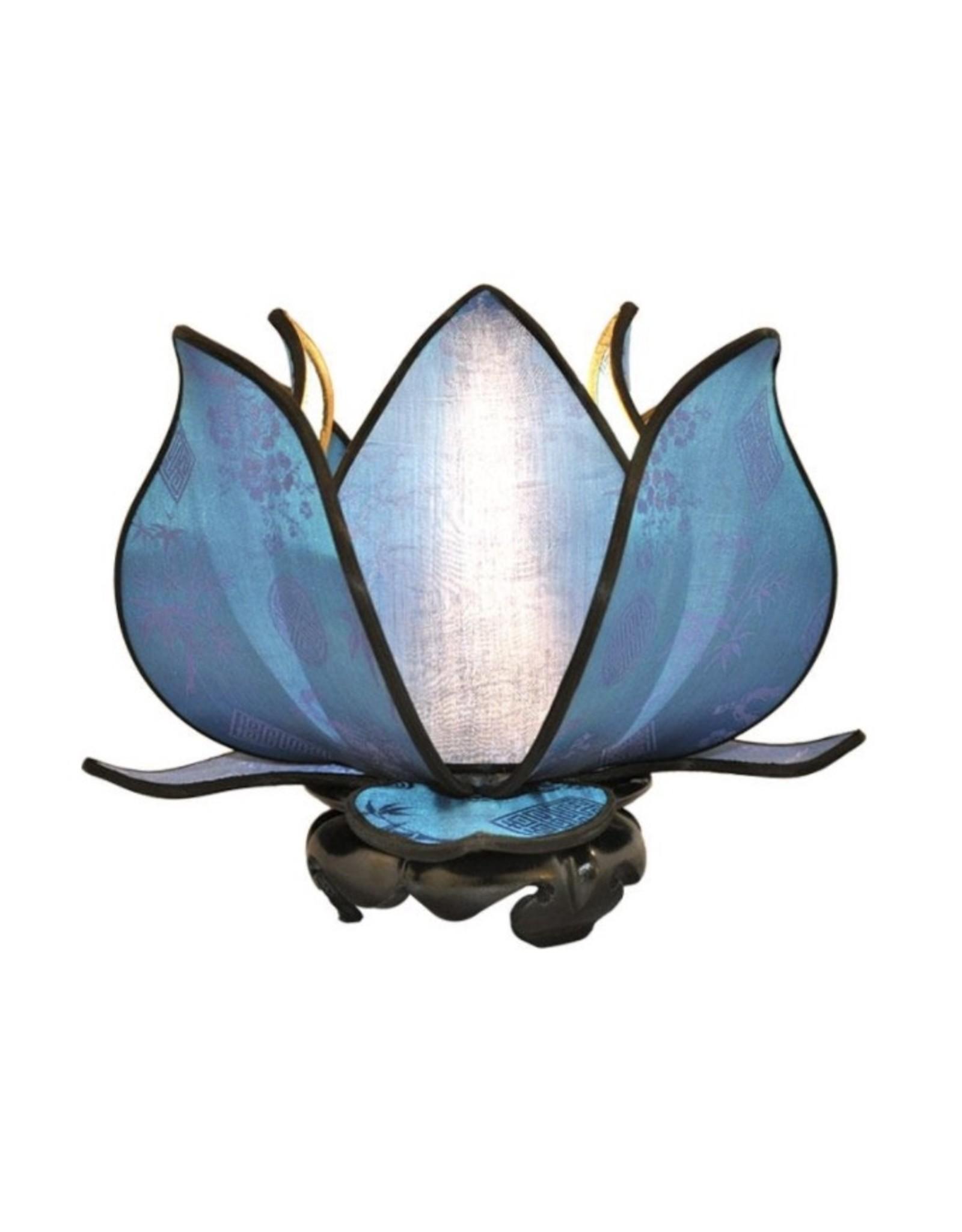 Baby Blooming Lotus Lamp - Blue
