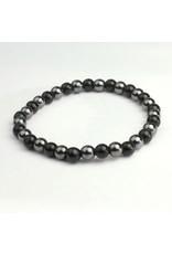 Children's Black Tourmaline & Hematite Power Bracelet