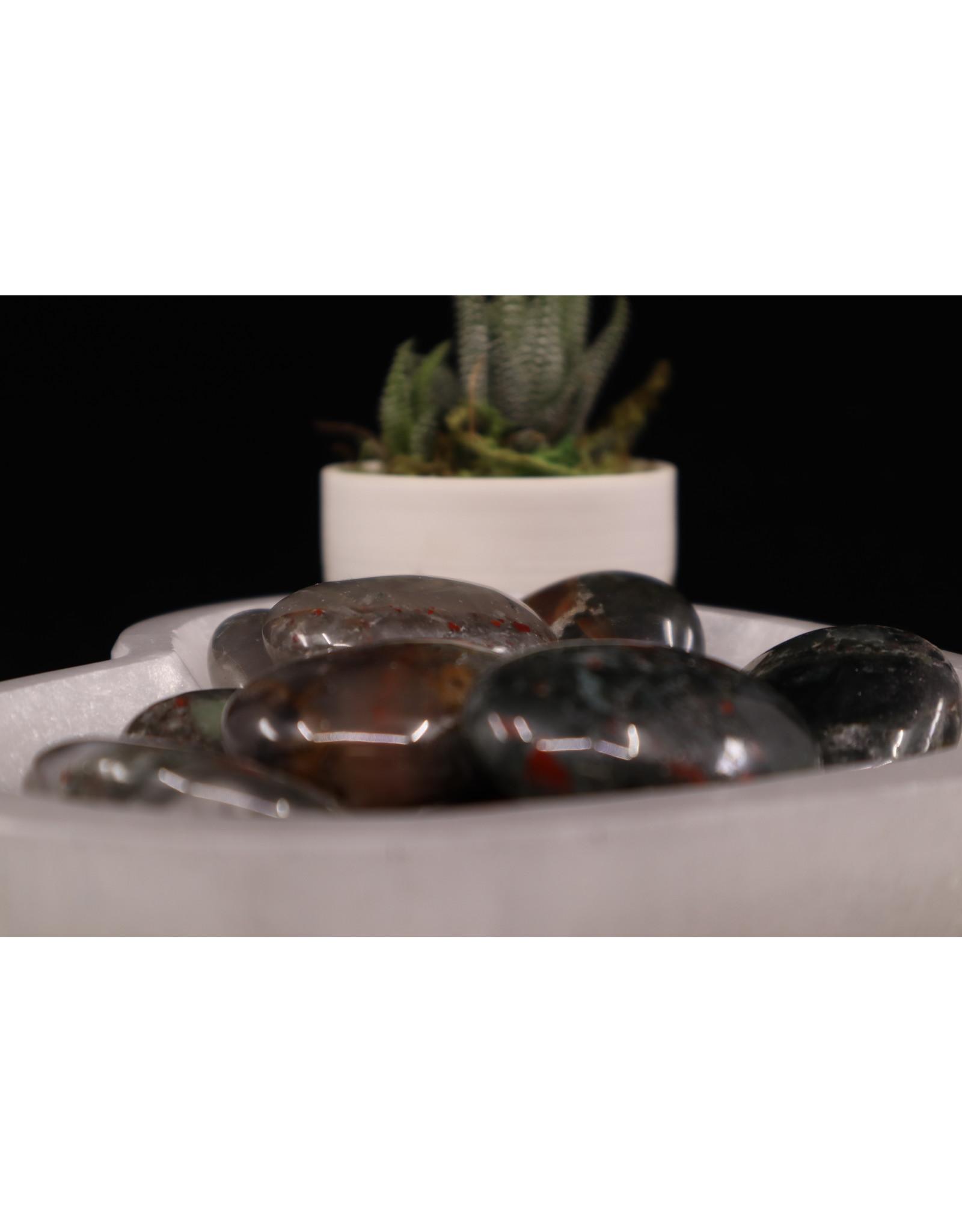 Bloodstone Palm/Pillow Stone