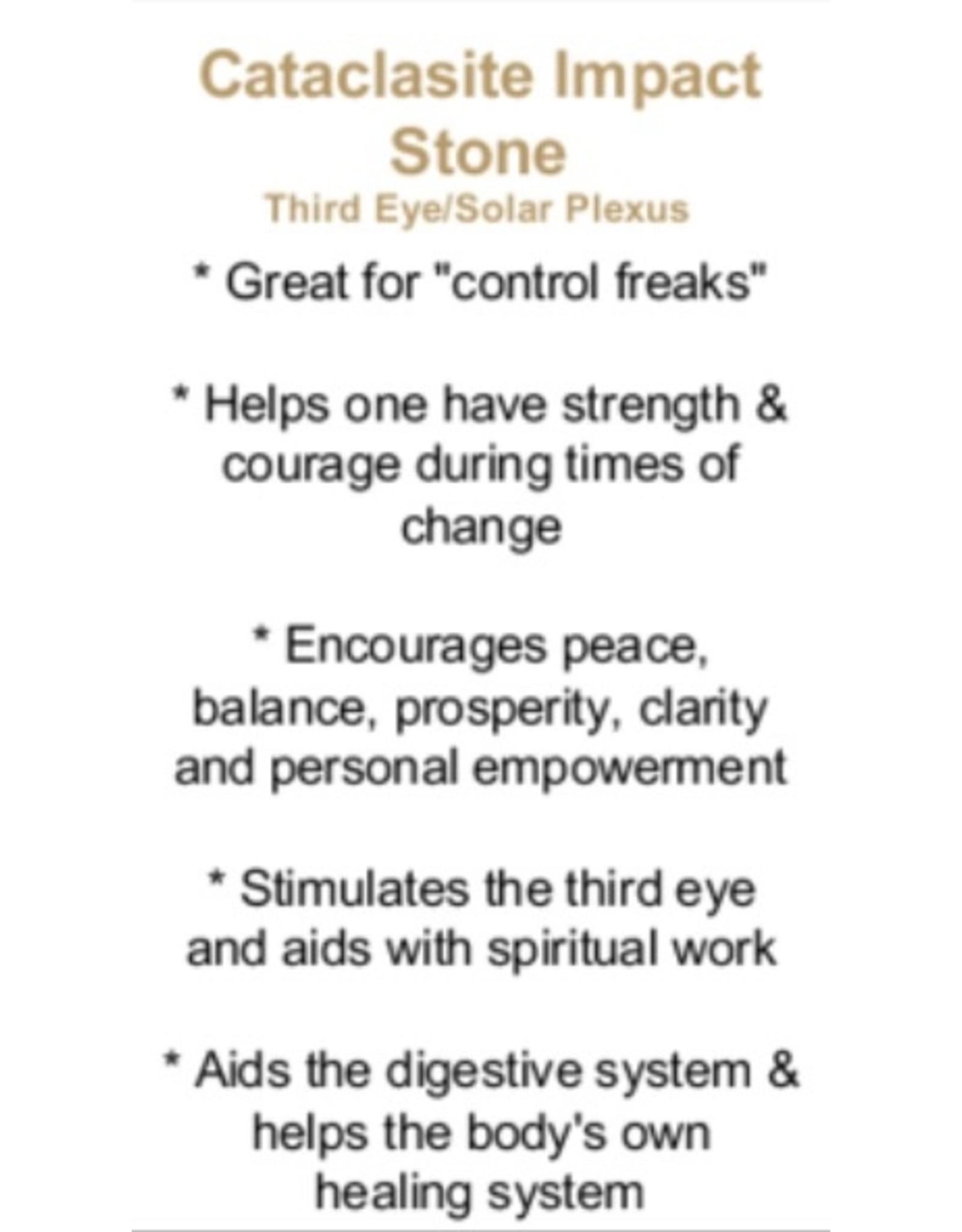Catacloisite Impact Stone