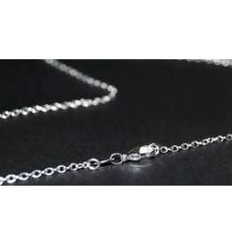 Sterling Silver Link Chain - 18""