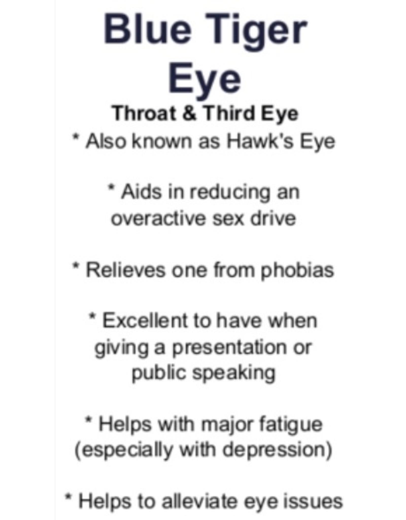 Blue Tiger's Eye - Tumbled