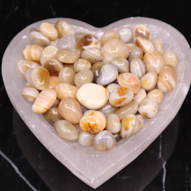 Banded Agate - Tumbled