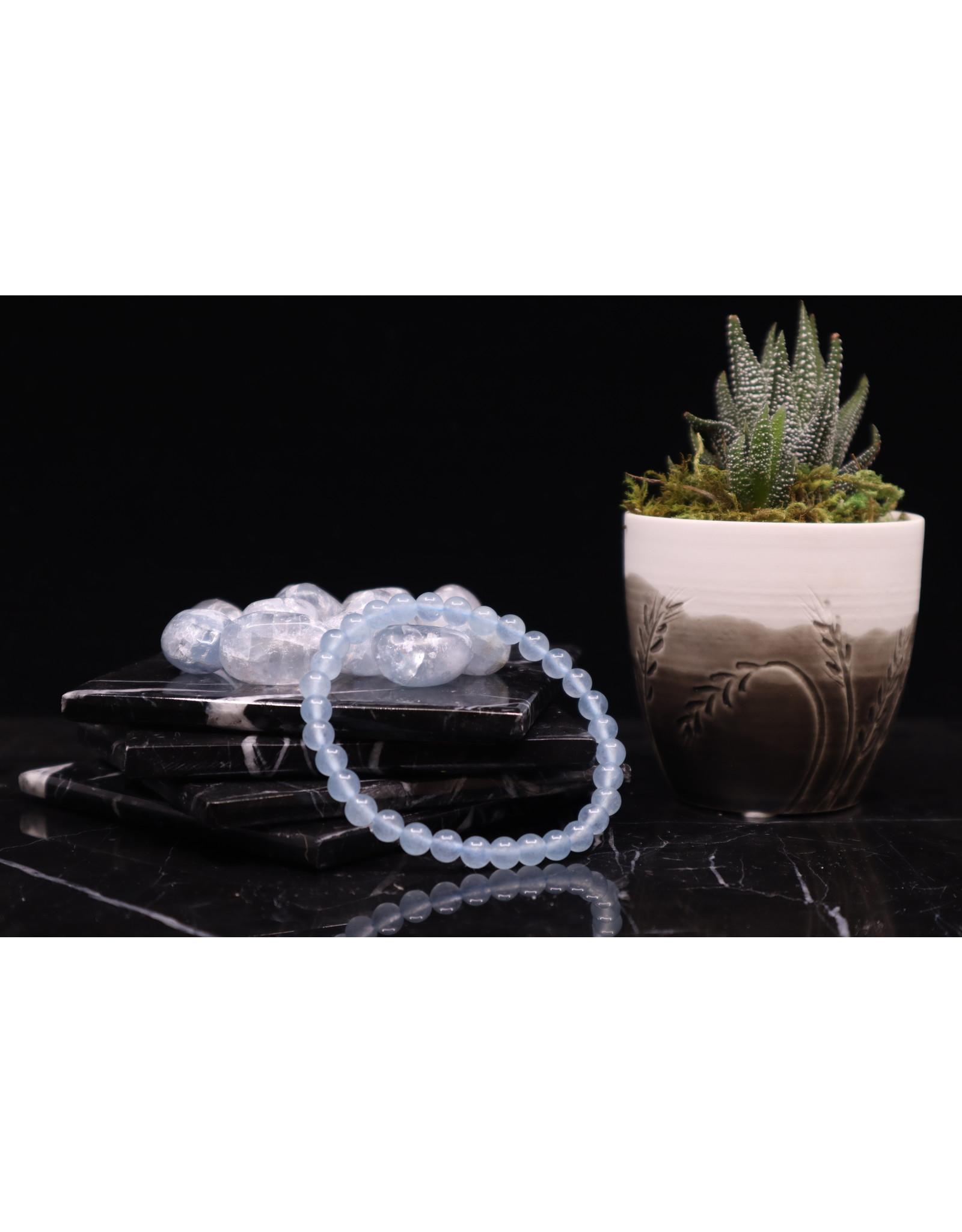 Celestite Bracelet - 6mm