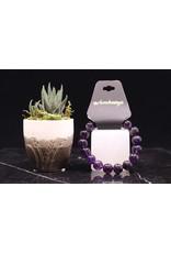 Amethyst Bracelet -  12mm