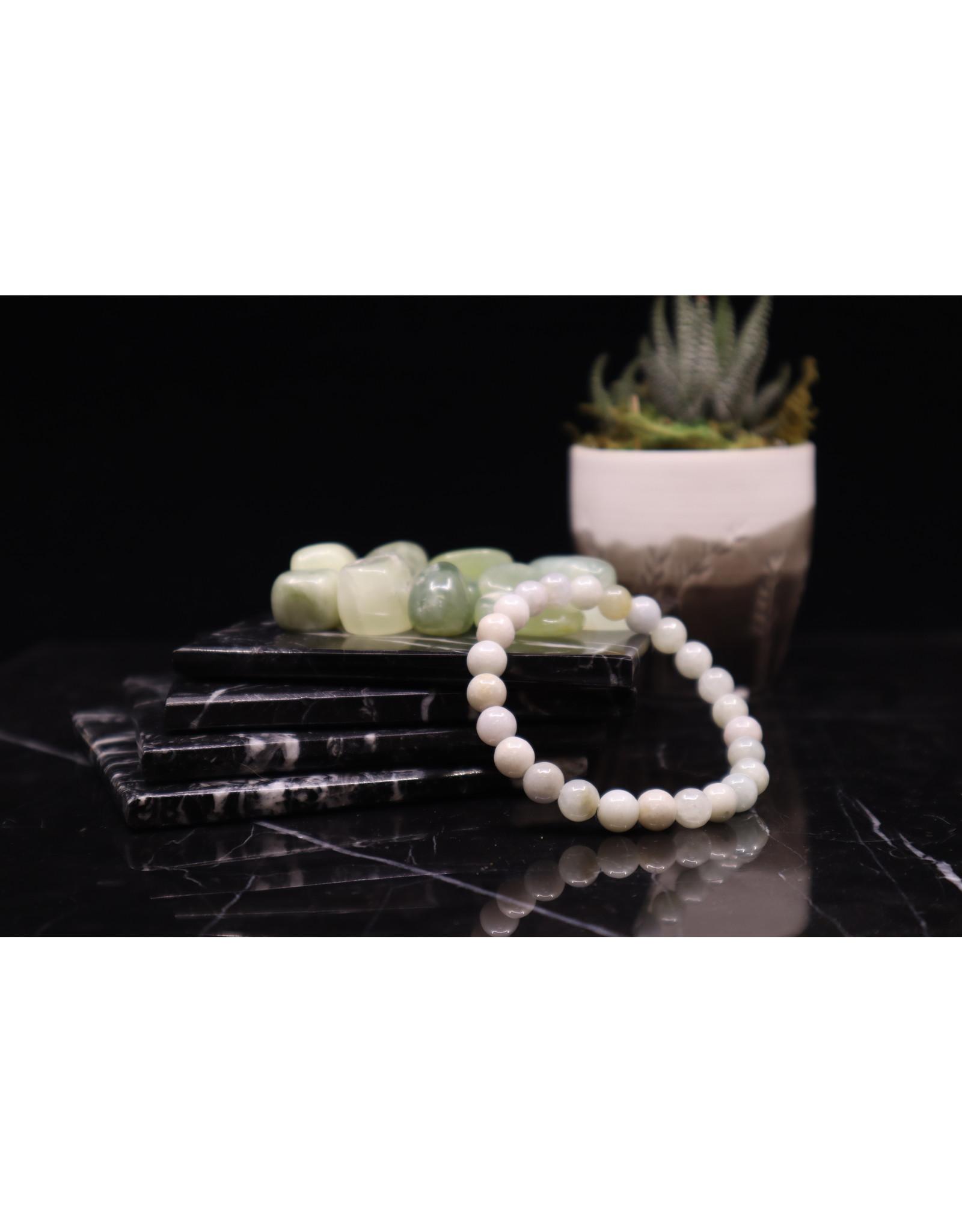 Burmese Jade Bracelet-8mm