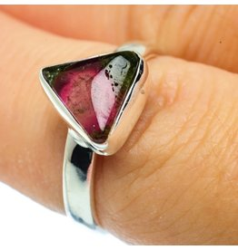Watermelon Tourmaline Ring - Size 7