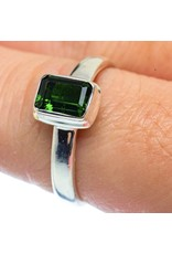 Chrome Diopside Ring - Size 8