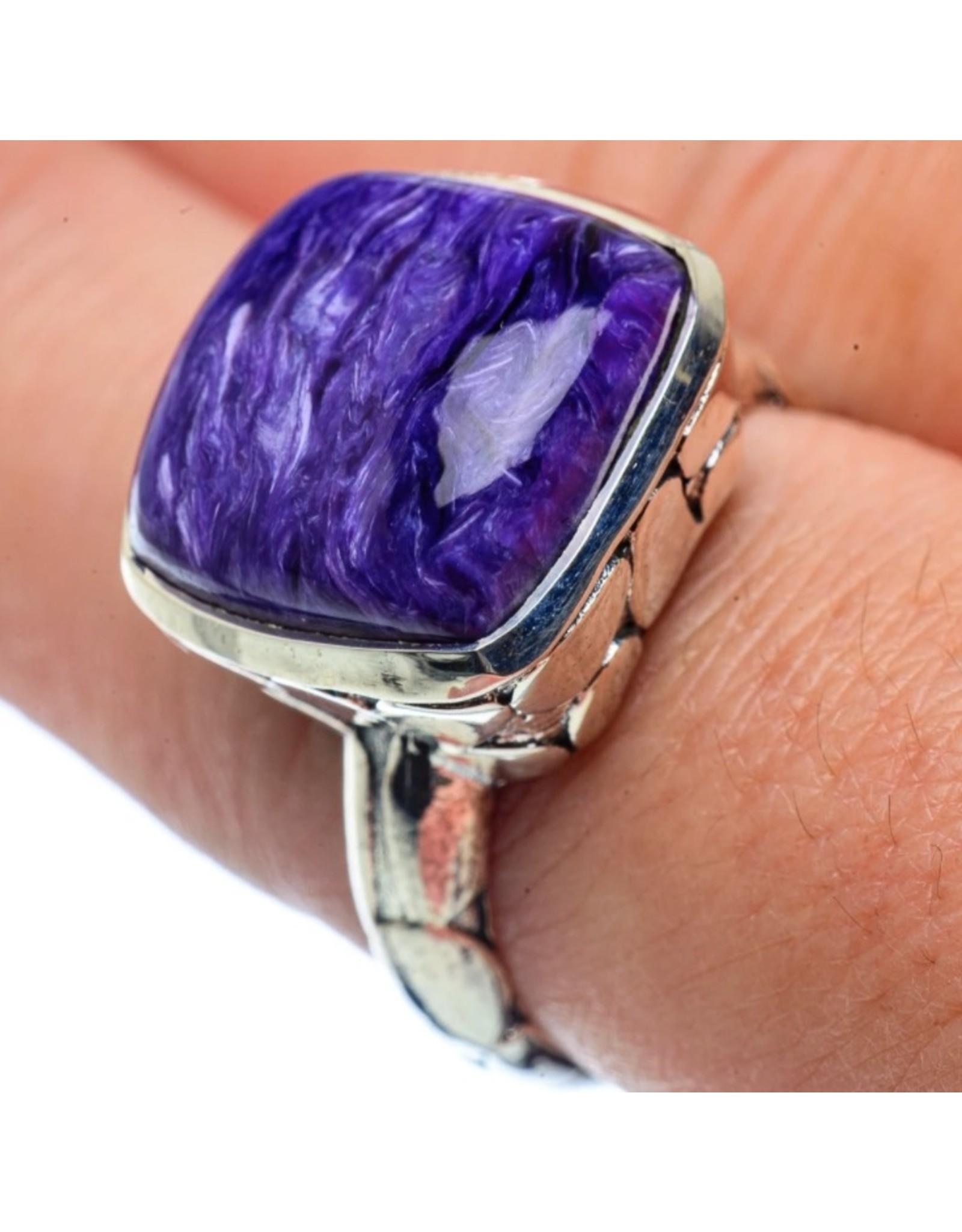 Charoite Ring - Size 8.5