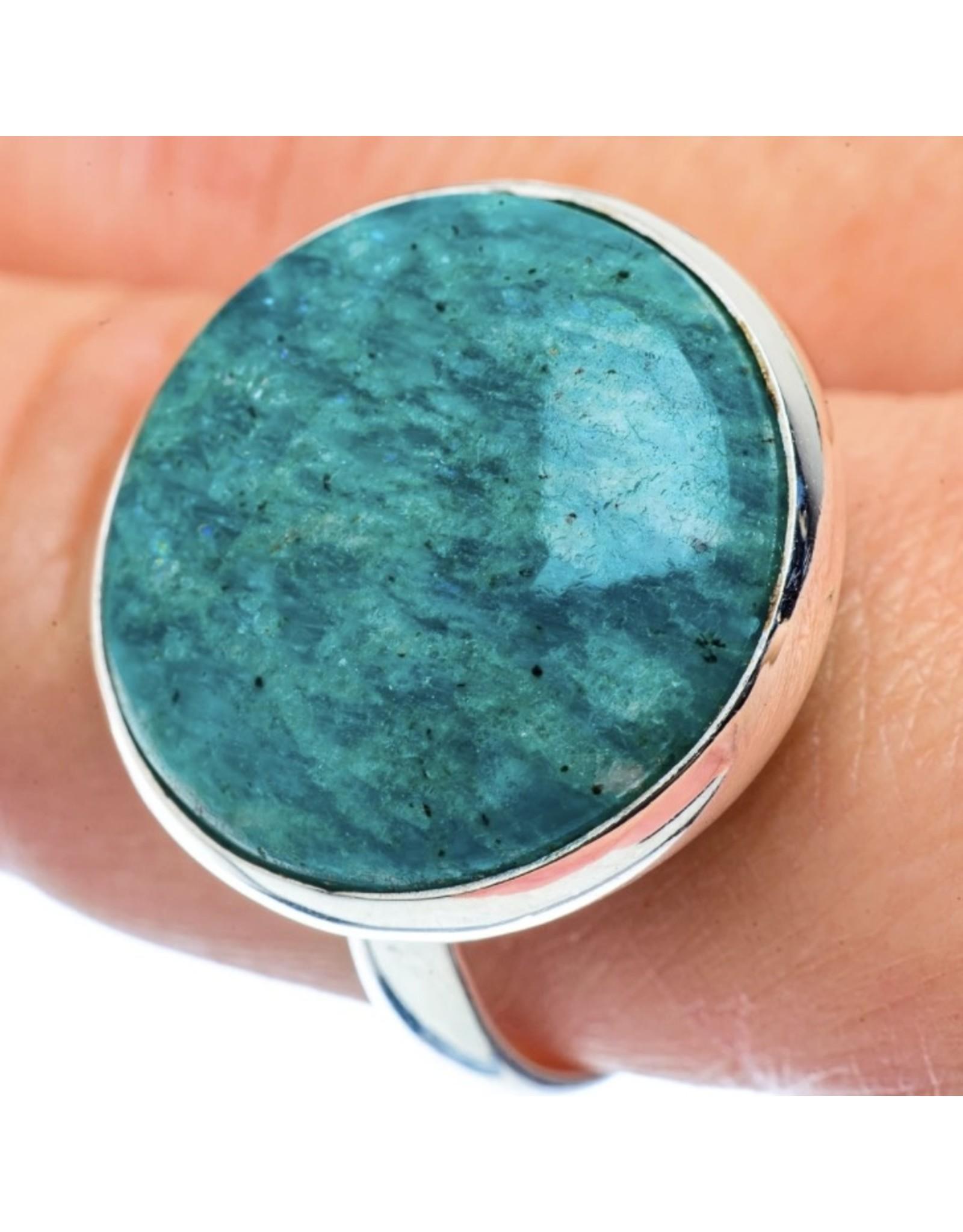 Amazonite Ring - Size 11.25