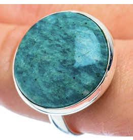 Amazonite Ring - Size 11.25