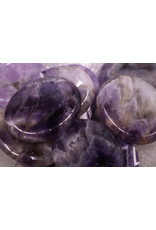 Amethyst Worry Stone -Large Oval