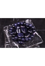 Blue Sandstone Bracelet - 10mm