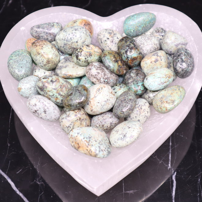 African Turquoise - Tumbled