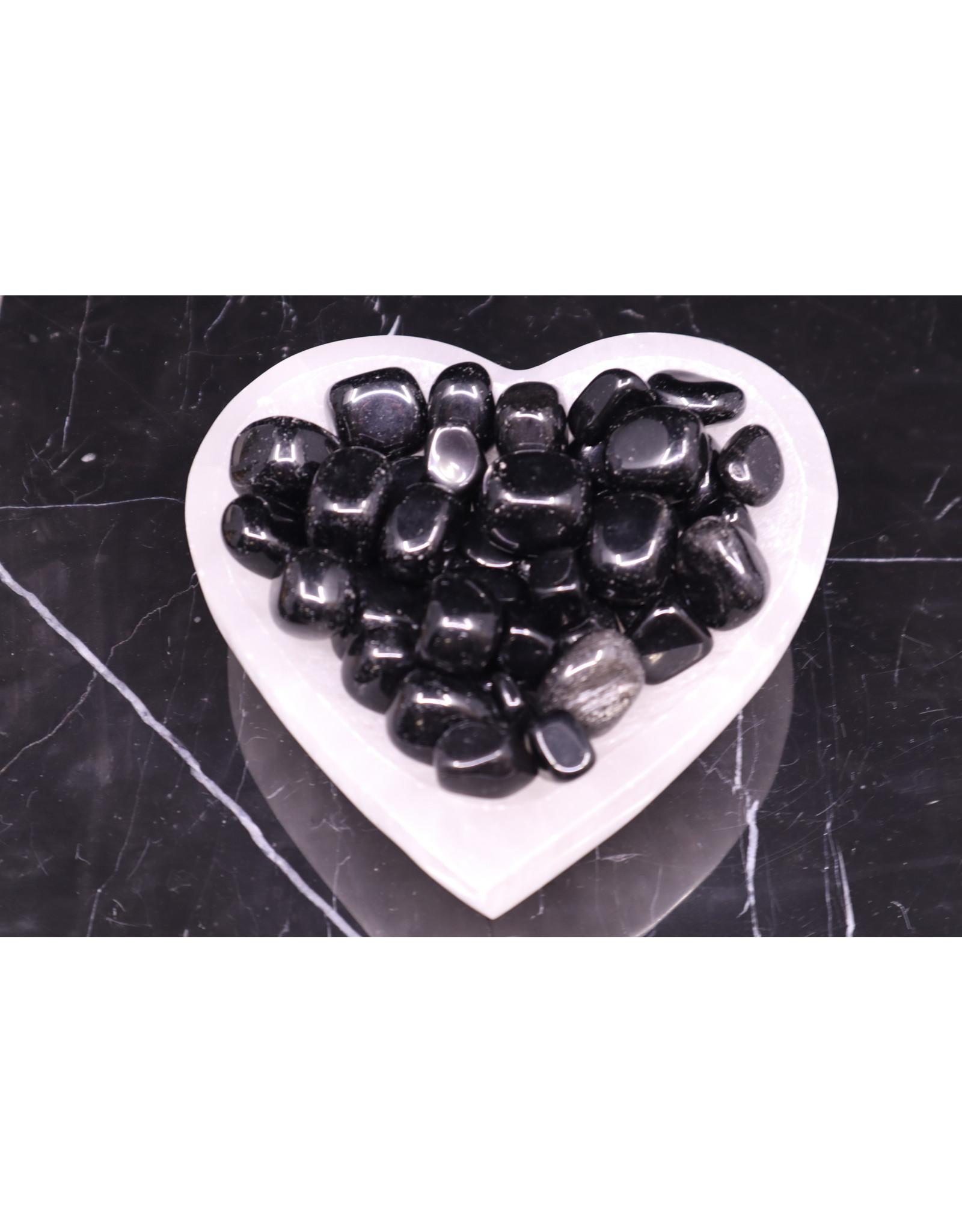 Black Obsidian - Tumbled