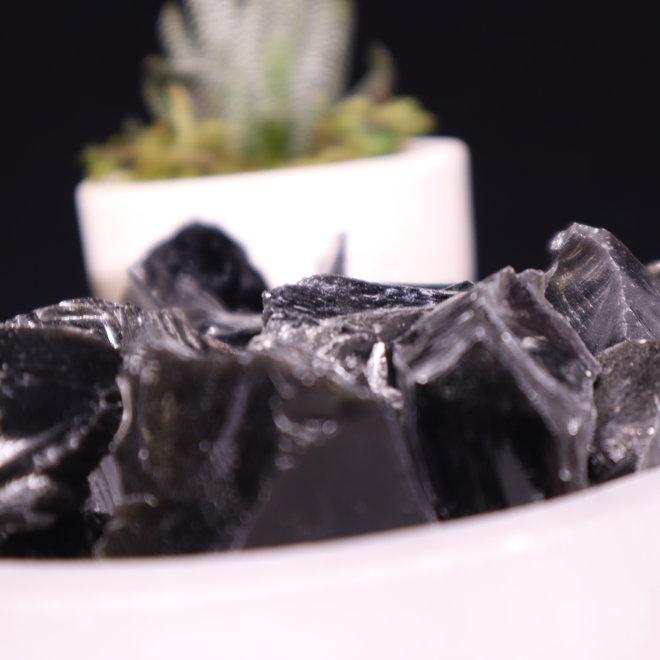 Black Obsidian - Rough Raw Natural