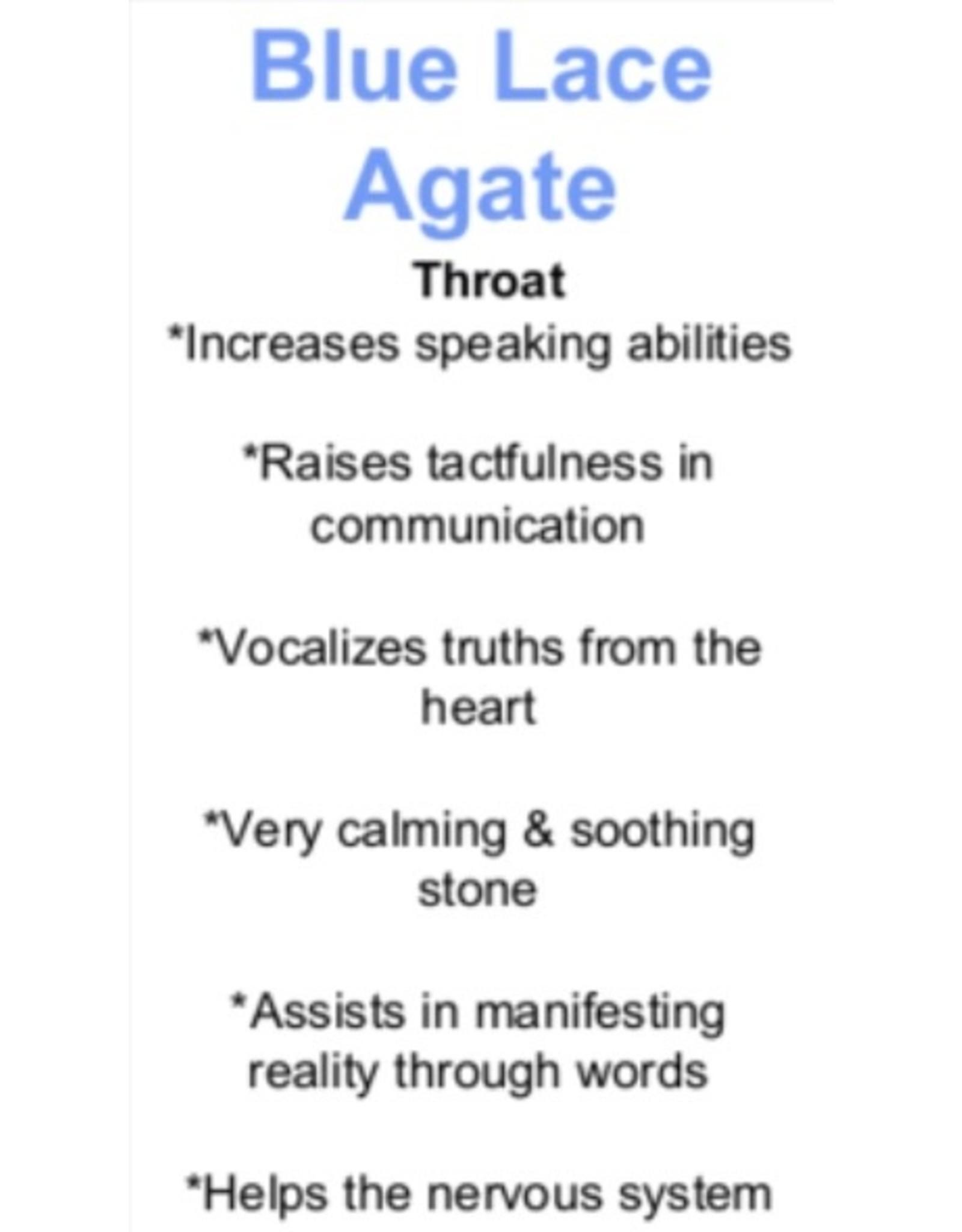 Blue Lace Agate - 1/2 Rough