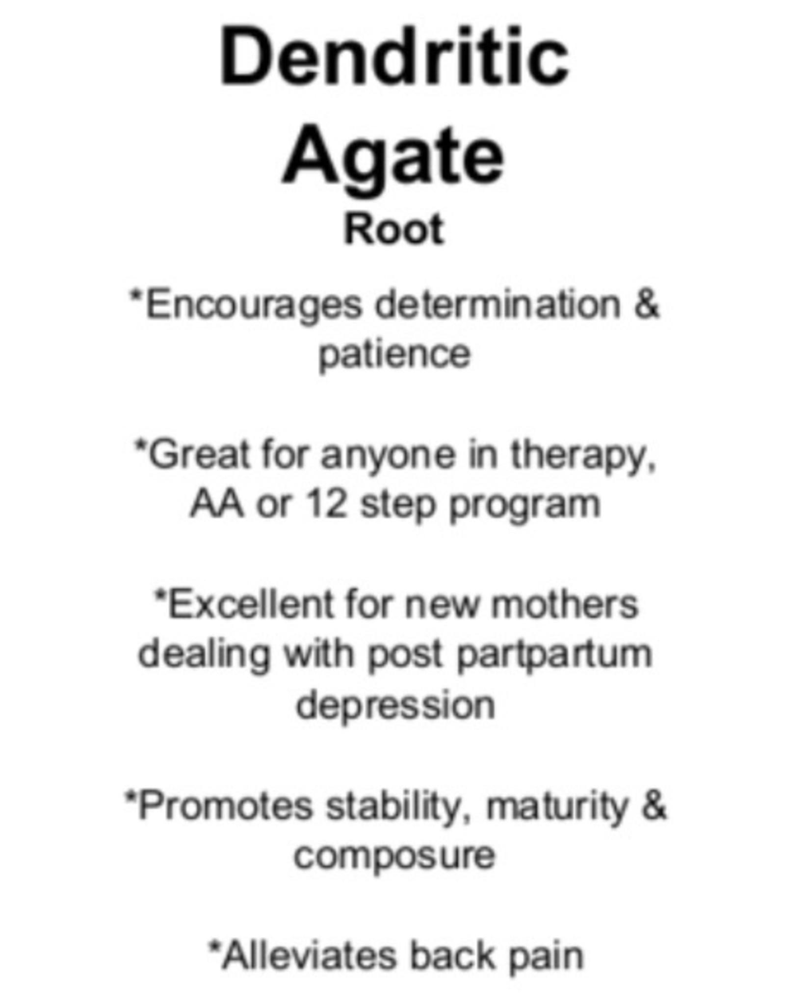 Dendritic Agate - Tumbled