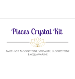 Pisces Astrological/Zodiac Crystal Kit