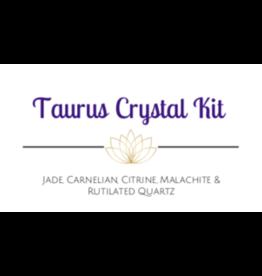 Taurus Astrological /Zodiac Crystal Kit
