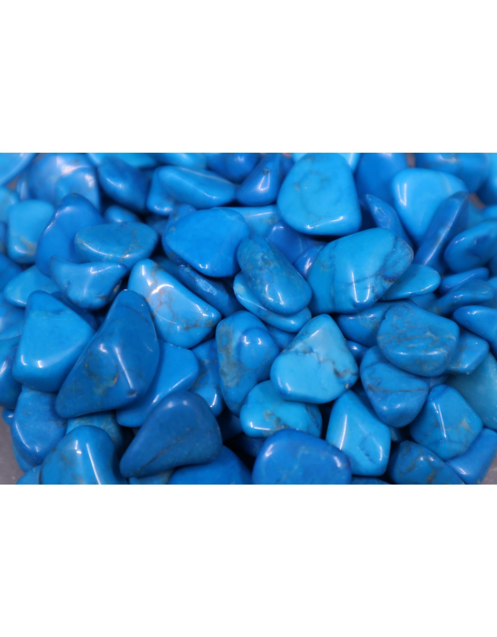 Blue Howlite - Tumbled